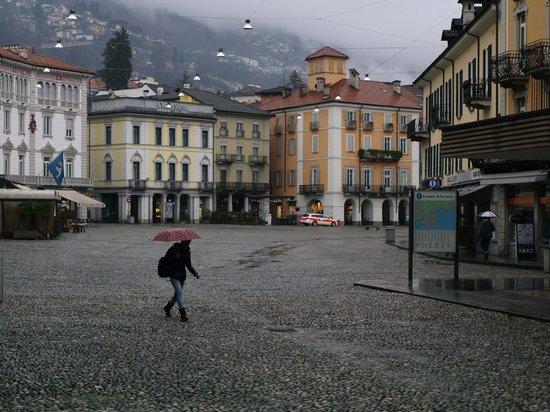 Al Portico is located off the market place in the centre of Locarno