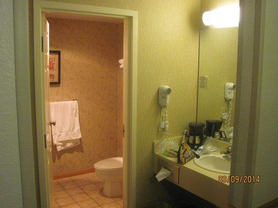 The Apple Tree Inn : big bathroom area