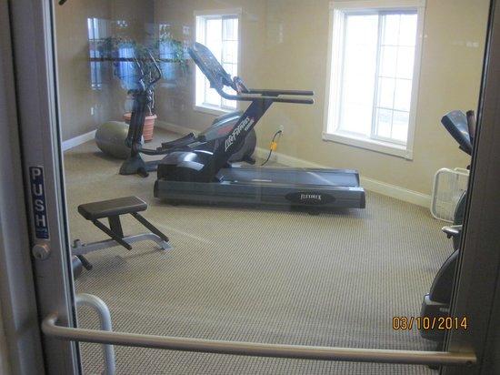 The Apple Tree Inn : exercise area
