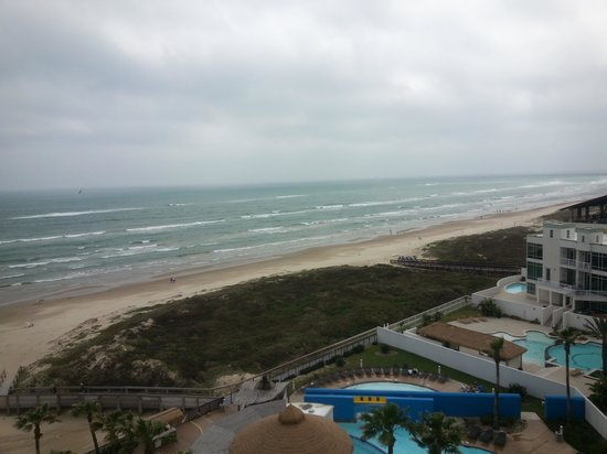 Pearl South Padre: overlooking gulf from balcony