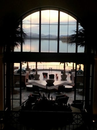 The Westin Lake Las Vegas Resort & Spa: From the lobby