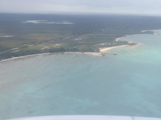 Small Hope Bay Lodge: view from the air of SHBL