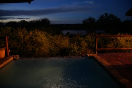 Bushwise Safaris: Sunset at the Pool