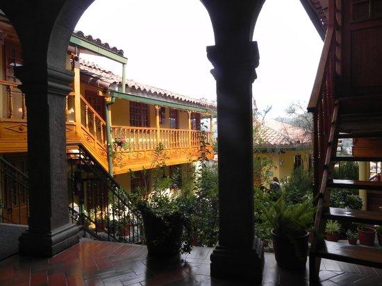 Amaru Colonial : Garden area