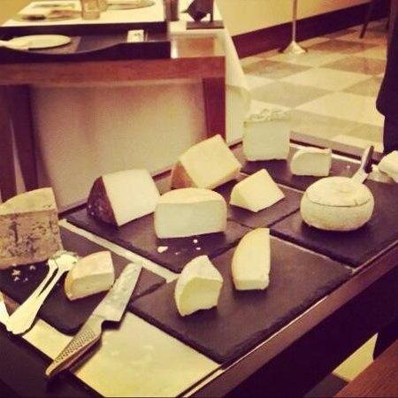 Zaranda : Carro de quesos