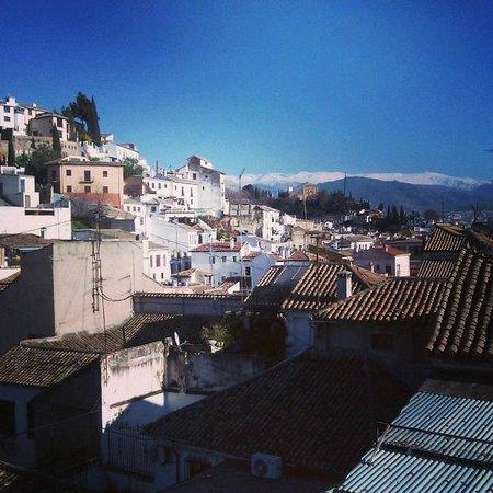 Hostal Atenas: Excelentes vistas