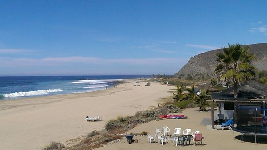 Osprey San Pedrito: San Pedrito surf break from the casita deck