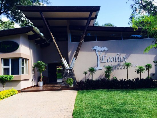 Ecolux Boutique Hotel: The hotel entrance