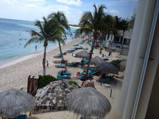 Grand Oasis Tulum: View from the room.