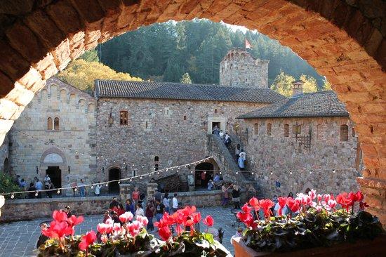 Castello di Amorosa : The Courtyard