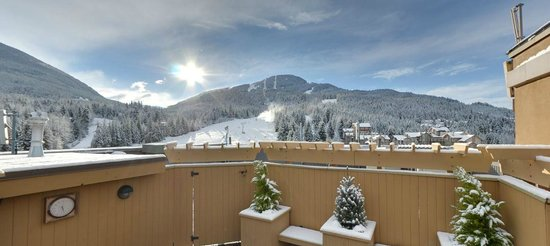 Sundial Boutique Hotel : Panoramic views from the Roof Top Hot Tub