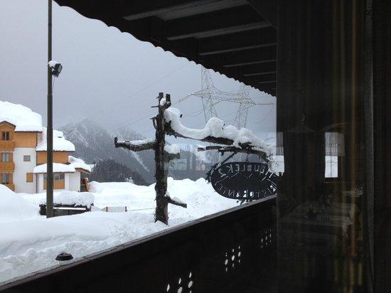 Hotel Residence K2: panorama dalla sala ristorante