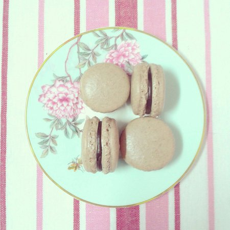 Lady Cakes: Macaron de chocolate