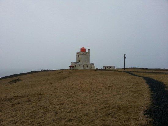 Dyrholaey: Lighthouse @ Dyrhólaey
