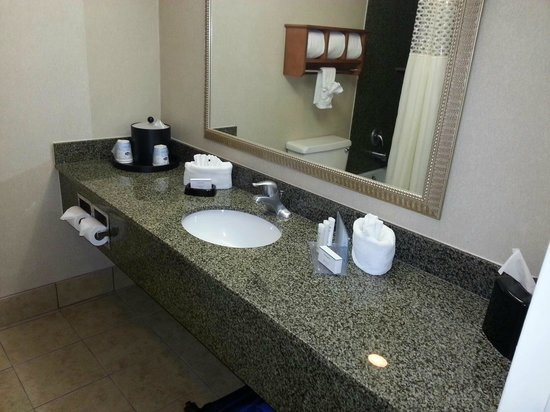 Hampton Inn Lake Havasu City : Updated bathroom