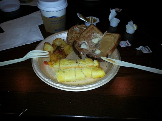Hampton Inn Lake Havasu City : Breakfast 2nd day