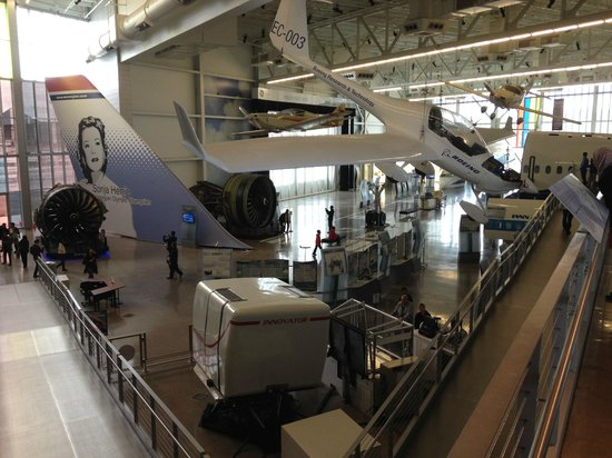 The Future of Flight Aviation Center & BoeingTour: Section musée