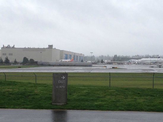 The Future of Flight Aviation Center & BoeingTour: Usine principale