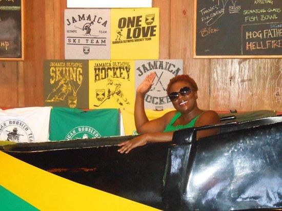 Biggs BBQ Restaurant & Bar: The bobsled at Biggs