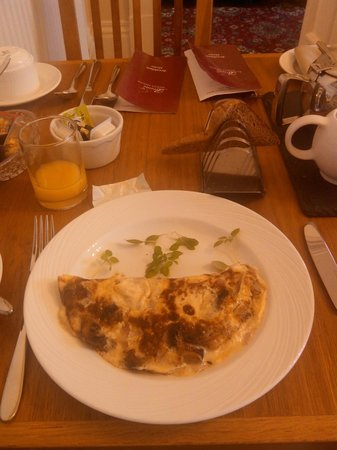 Bronte Guest House: Breakfast