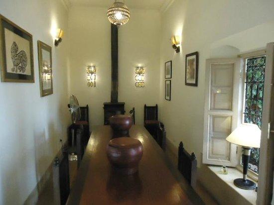 Riad Al Massarah : Dining room.