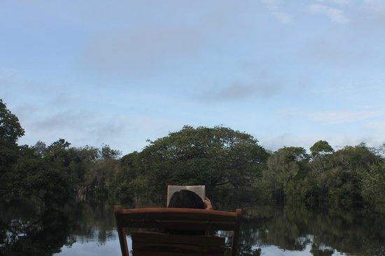 Amazon Tupana Lodge: Relax.