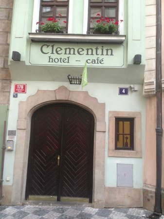 Clementin Old Town: front of the hotel