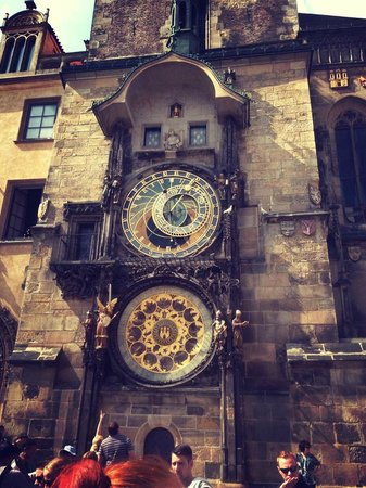 Clementin Old Town: the clock 5 min walk