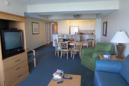 Paradise Resort Living Room 1402
