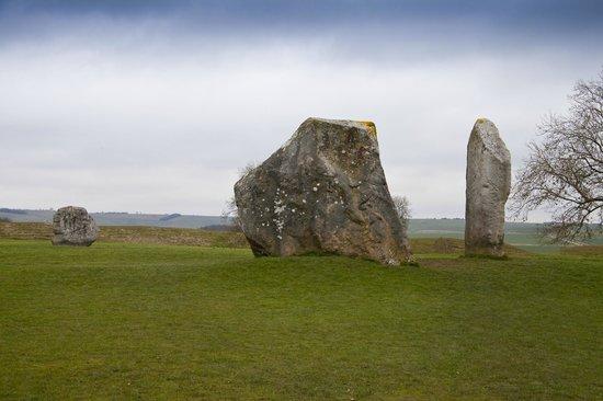 Avebury Stone Circle : Cove stone