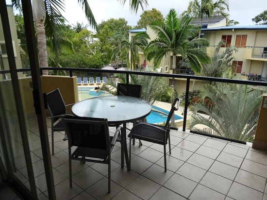 Montpellier Boutique Resort : outdoor patio/balcony