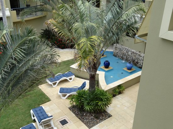 Montpellier Boutique Resort: view from our balcony