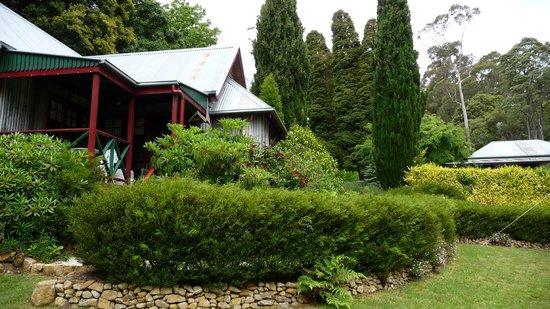 Observatory Cottages: front view Owls Croft cottage