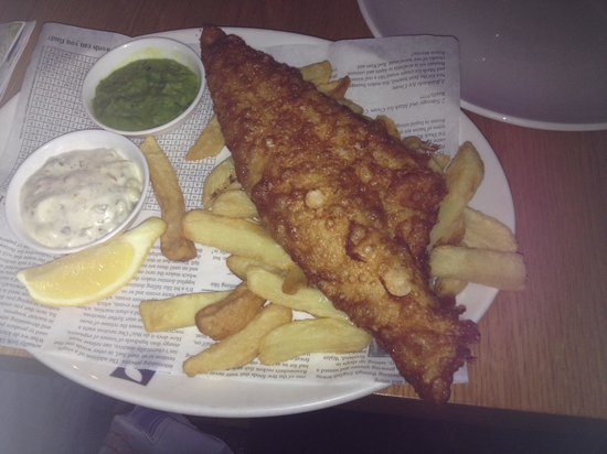 Cape Town Fish Market: Fush and chips