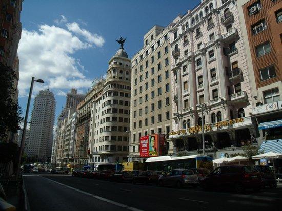 Hostal Santillan : Building where SAntillan hostel is located