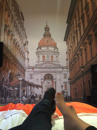 Hotel President Budapest: Nice pictures in the rooms