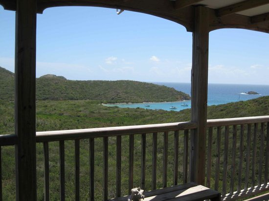 Concordia Eco-Resort: View from our studio porch