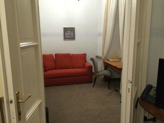 Hotel Pod Vezi: Room 24 office room off main bedroom