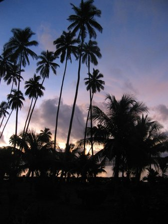 Daku Resort: Sunset from Burre 3