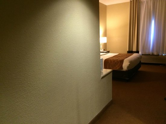 Comfort Suites Austin Airport: entryway to Room 127