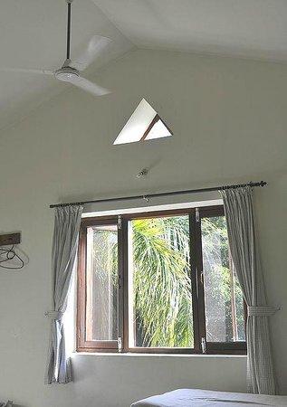 Mum's Garden Resort: 窓は網戸付き