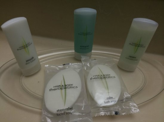 Comfort Suites Austin Airport: Bathroom amenities