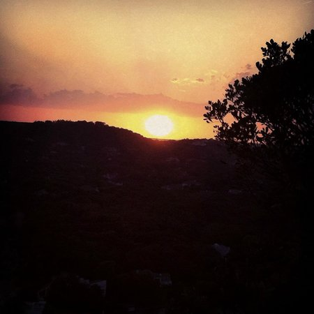 Mount Bonnell : Sunset Mt. Bonnell