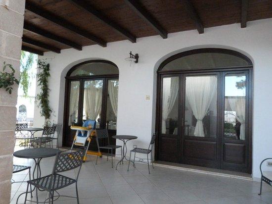 Hotel Masseria L'Ovile: Terrace