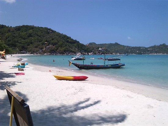Thong Nai Pan Yai Beach: beachende