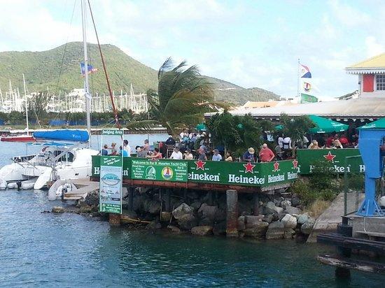 Sint Maarten Yacht Club Bar & Restaurant : Regatta week