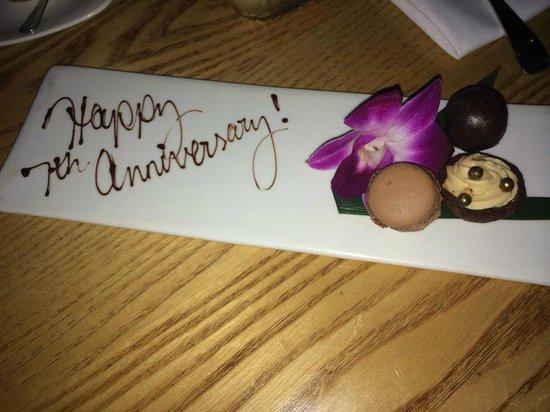 Nobu : Anniversary Treat