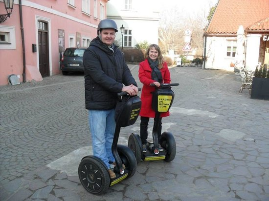 Prague On Segway : Say cheese