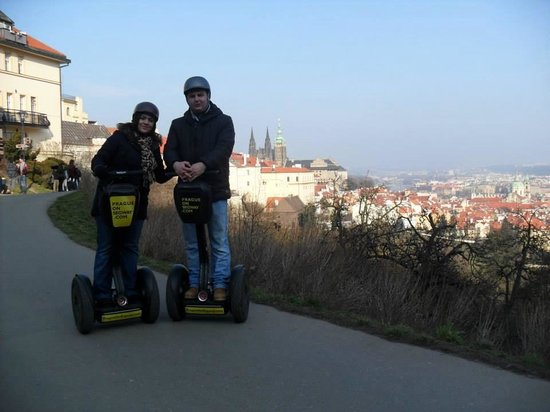 Prague On Segway : Stunning views!
