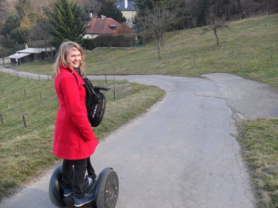 Prague On Segway : Our tour guide Susan 😊